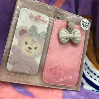 ディズニー(Disney)の新品シェリーメイ ポーチ付きiPhoneケース(iPhoneケース)