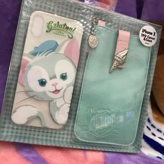 ディズニー(Disney)の新品ジェラトーニ ポーチ付きiPhoneケース(iPhoneケース)