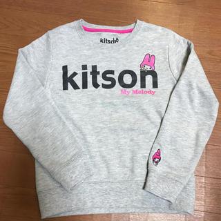 キットソン(KITSON)のkitson マイメロディ トレーナー 140(Tシャツ/カットソー)