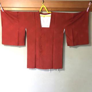 【新品】和装着物/道行コート/煉瓦色(着物)