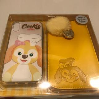 ディズニー(Disney)の新品クッキー ポーチ付きiPhoneケース(iPhoneケース)
