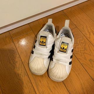 アディダス(adidas)のadidas キッズスリッポン 19センチ(スニーカー)