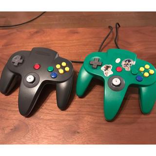 ニンテンドウ64(NINTENDO 64)のニンテンドー64 任天堂64 ゲーム機 家庭用ゲームソフト コントローラー(家庭用ゲーム本体)