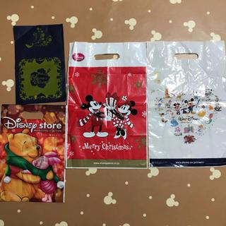 ディズニー(Disney)のディズニーストア お土産袋 小分け袋 ショップ袋 ミッキーマウスミニー110周年(ショップ袋)