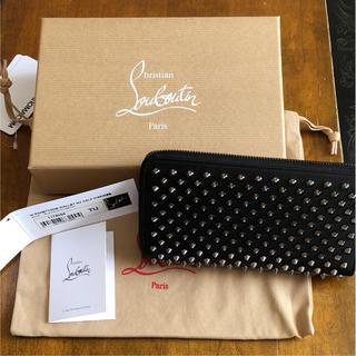 クリスチャンルブタン(Christian Louboutin)のクリスチャンルブタン 長財布 美品 黒 (財布)