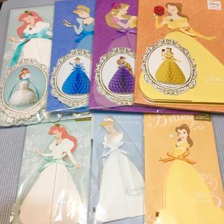 ディズニー(Disney)のハニカムカード 大4枚・ハニカムカード ミニ3枚(ウェルカムボード)