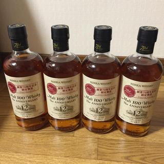 ニッカウイスキー(ニッカウヰスキー)のニッカウイスキー70周年限定醸造 ジアニバーサリー12年 4本(ウイスキー)