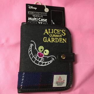 ディズニー(Disney)の不思議の国のアリス アリス チェシャ猫 マルチケース   カードケース(キャラクターグッズ)