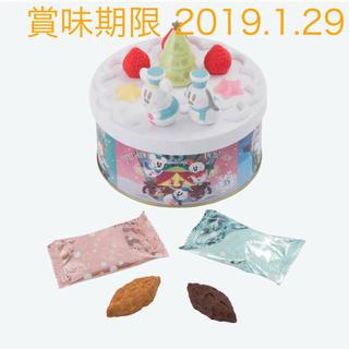 ディズニー(Disney)のディズニー  スノースノー パイケーキ プラ蓋缶(菓子/デザート)