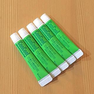 ウェルテック コンクールジェルコートF【試供品】5本セット(歯磨き粉)