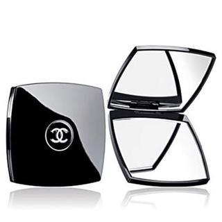 シャネル(CHANEL)の新品 CHANEL コンパクトミラー シャネル鏡 両面ミラー ダブルミラー(ミラー)