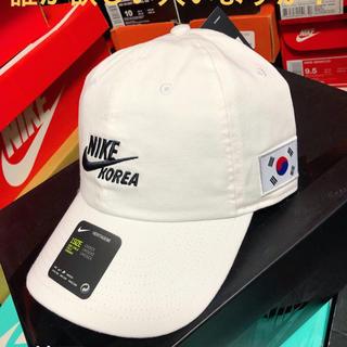 NIKE - 日本未発売 NIKE ナイキ 韓国 korea キャップ スナップバック 白