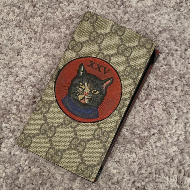 フェンディ iphone8 ケース 財布型 | Gucci - GUCCI  猫 手帳型 iPhoneカバーの通販 by bug|グッチならラクマ