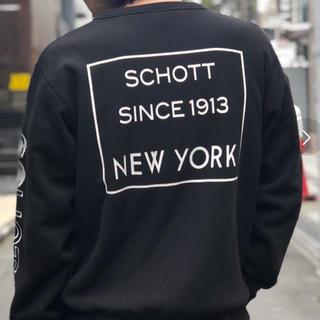 ショット(schott)のSchottショットCREW NECK SWEAT スウェット リバースウィーブ(スウェット)