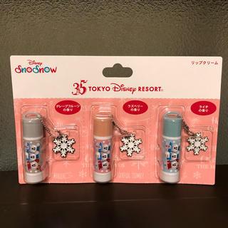 Disney - ☆記念半額SALE~送料込赤字覚悟☆TDL35周年 スノースノー リップクリーム