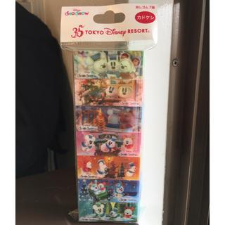 Disney - ☆記念半額SALE~送料込赤字覚悟☆TDL 35周年 スノースノー カドケシ