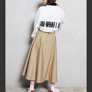 トリプルエー(AAA)のIAMWHATIAM long sleeveT-shirt(Tシャツ/カットソー(七分/長袖))