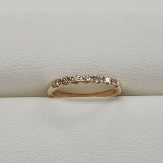 テイクアップ(TAKE-UP)のK10 ピンクゴールドダイヤモンドピンキーリング TAKE-UP(リング(指輪))