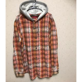 Supreme - 【XL】supreme Hooded Jacquard Flannel