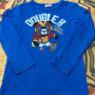 ダブルビー(DOUBLE.B)のミキハウス ダブルビー ロンT 130㎝(Tシャツ/カットソー)