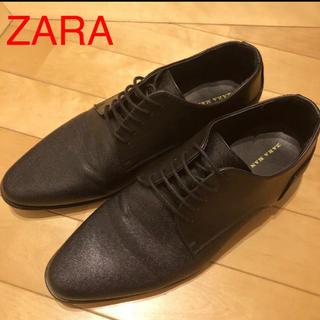 ザラ(ZARA)のZARA MAN メンズブラックビジネスシューズ ドレスシューズ(ドレス/ビジネス)