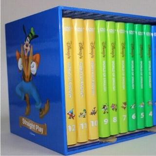 美品☆英語システム 2013年版 ディズニー 幼児教材 DVD 12本 セット (知育玩具)