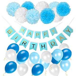 人気♡誕生日 バルーン 風船 セット 飾り ペーパー フラワー デコ お祝い(モビール)