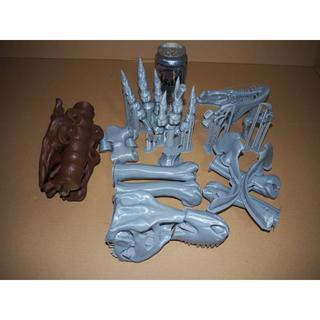 ビッグスケール!ティラノサウルス 1/10骨格模型 組み立てキット T・REX (模型製作用品)
