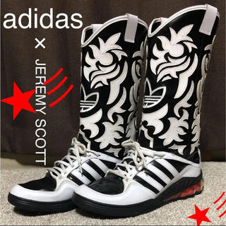 アディダス(adidas)の美品⭐︎急げ‼︎【期限販売】スニーカー アディダス ジェレミースコット ブーツ(ブーツ)