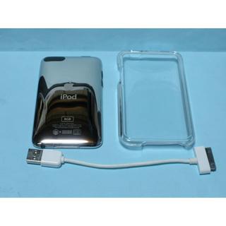 アイポッドタッチ(iPod touch)のipod touch 8gb ケース・ケーブル付き Apple 送料込み(ポータブルプレーヤー)