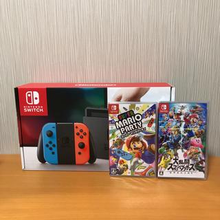 ニンテンドースイッチ(Nintendo Switch)の任天堂スイッチ ソフトセット(家庭用ゲーム本体)