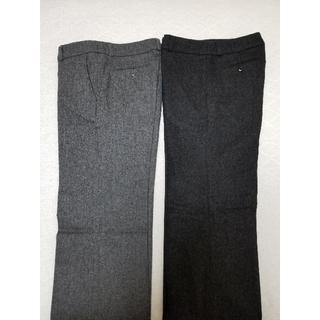 ムジルシリョウヒン(MUJI (無印良品))の良品計画 レディース パンツ 2本 セット(カジュアルパンツ)