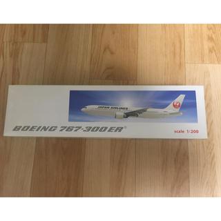 ジャル(ニホンコウクウ)(JAL(日本航空))の【新品未開封】JAL 日本航空 B767-300ER 1/200(模型/プラモデル)