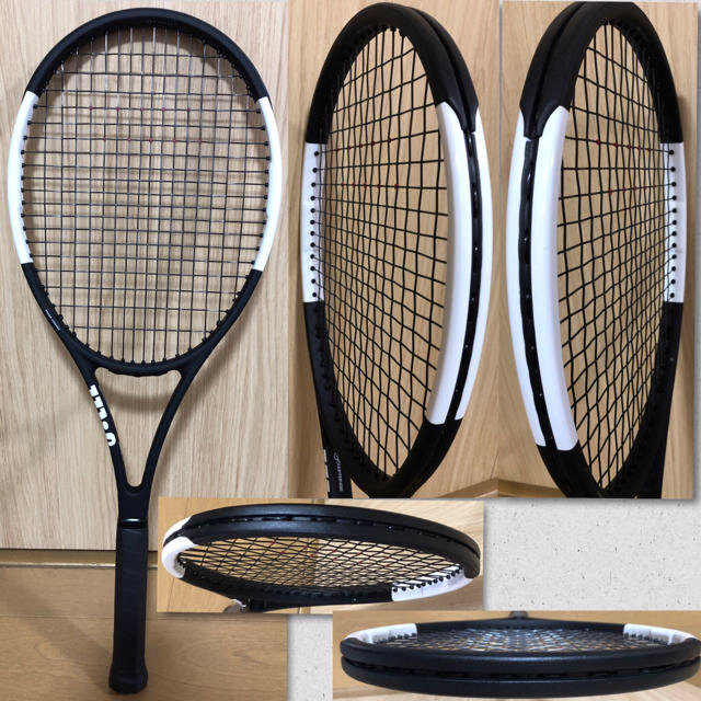 wilson(ウィルソン)の最新機種 Wilson PROSTAFF 97CV2018殆ど無傷新品同様品 スポーツ/アウトドアのテニス(ラケット)の商品写真