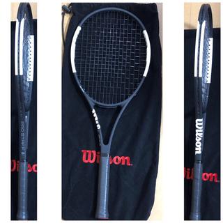 ウィルソン(wilson)の最新機種 Wilson PROSTAFF 97CV2018殆ど無傷新品同様品(ラケット)