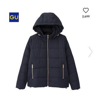 GU - 完売レア♡格安 GU 中綿ダウンジャケット ネイビー L