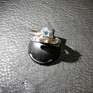 クレージュ(Courreges)のクレージュ スター silverリング(リング(指輪))