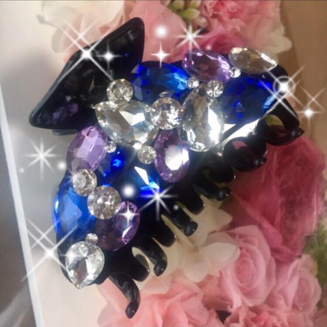 iphone8 ケース 30 代 - キラキラガラスビジュー バンスクリップの通販 by デコショップ  雅|ラクマ