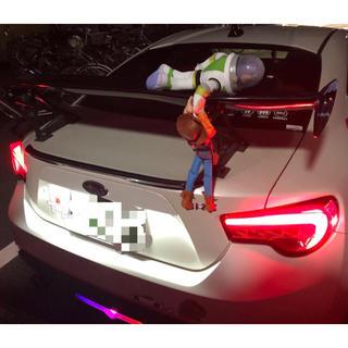 brz 86 GTウィング トランク 人形 トイストーリー バス・ウッディ (汎用パーツ)