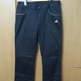 アディダス(adidas)のadidas アディダス ゴルフウェア パンツ ブラック(ウエア)