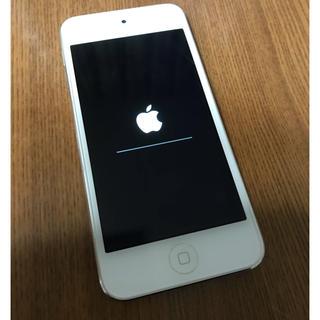アイポッドタッチ(iPod touch)のiPodtouch シルバー 32GB 第5世代(ポータブルプレーヤー)