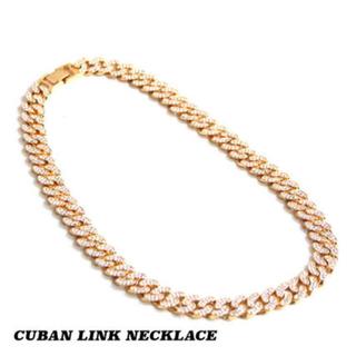 アヴァランチ(AVALANCHE)のcuban link ice chain 15mm(ネックレス)