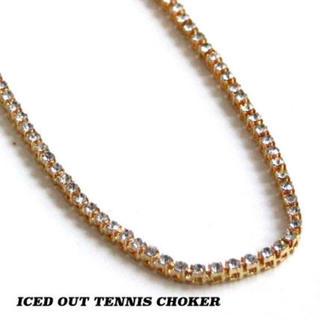 アヴァランチ(AVALANCHE)のiced out テニスチェーンネックレス 4.5mm(ネックレス)