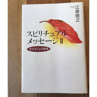 スピリチュアルメッセージⅡ 江原啓之 死することの真理(その他)