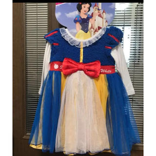 ディズニー(Disney)の新品☆ディズニープリンセスなりきりワンピース☆サイズ90(ドレス/フォーマル)