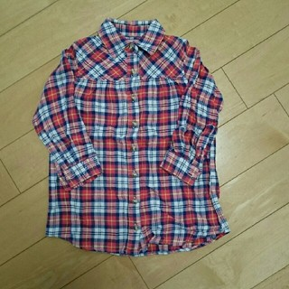 ダディオーダディー(daddy oh daddy)のdaddy oh daddy ネルシャツ 100(Tシャツ/カットソー)