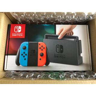 ニンテンドースイッチ(Nintendo Switch)のニンテンドースイッチ ネオン 新品 未開封(家庭用ゲーム本体)
