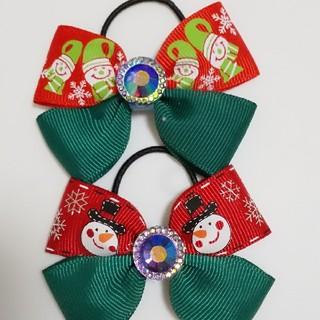 クリスマス☆2種のスノーマン(ファッション雑貨)