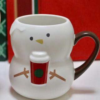 スターバックスコーヒー(Starbucks Coffee)のホリデー2018マグスノーボーイ355ml(マグカップ)