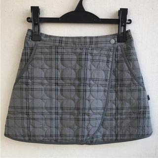 プリンス(Prince)のプリンス キルトスカート グレー×黒M 定価8856円 WL6346(ウェア)